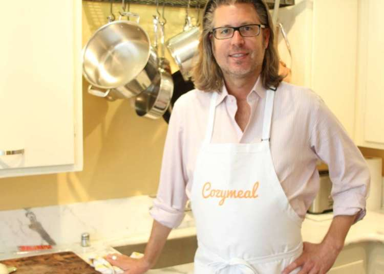 Chef James in his kitchen