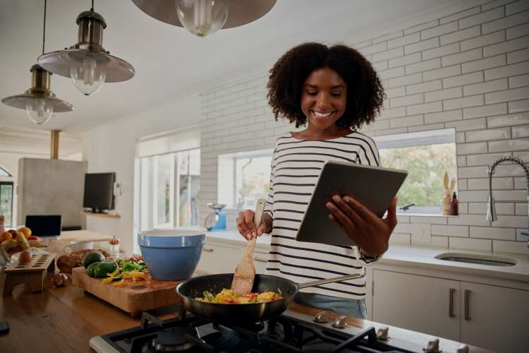 Virtual cooking classes are a great girls night idea