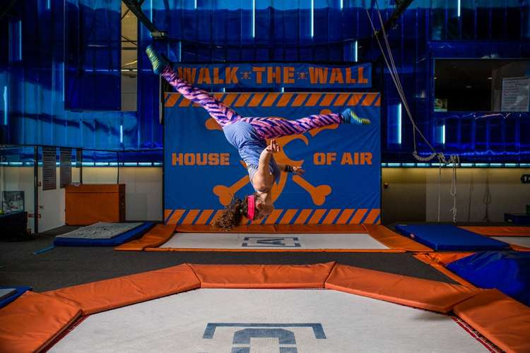 head to the trampoline park for an unforgettable girls night idea