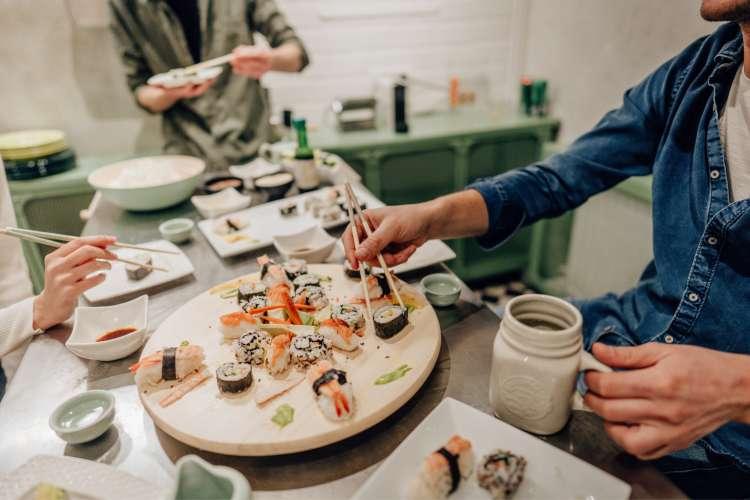 30th birthday party idea sushi making