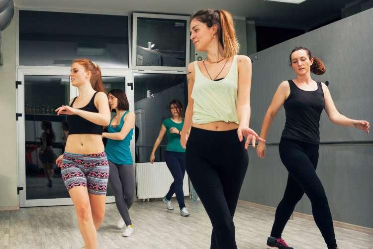 dance classes girls night idea