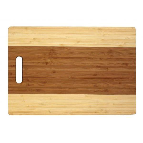 Helen's Asian Kitchen 14X10 Bamboo Cutting Board