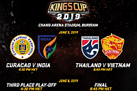 King's Cup 2019 opening day Thailand...