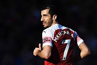 Mkhitaryan was not injured but was...