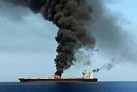 US oil tanker carrying US destroyer...
