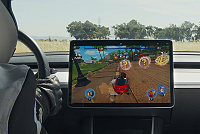 Tesla drivers can play 'Beach Buggy...