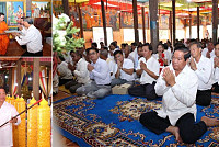 14 Buddhist temples were celebrated...