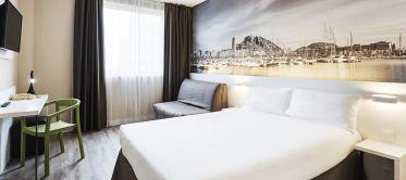 Habitación doble matrimonial Hotel B&B Alicante
