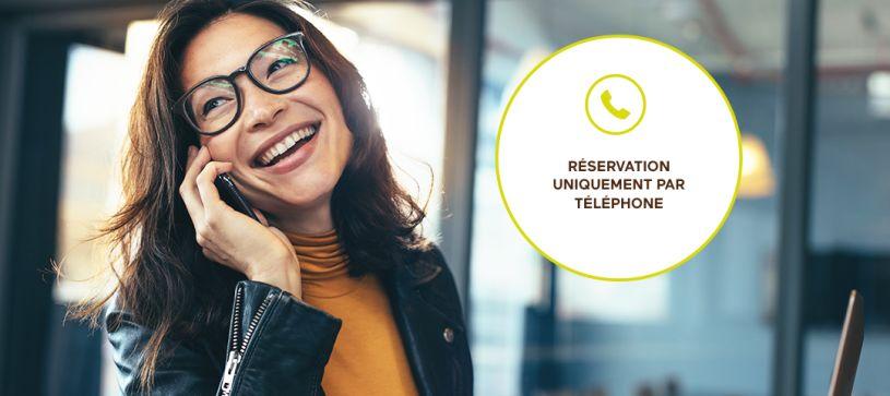 réservation hôtel par téléphone