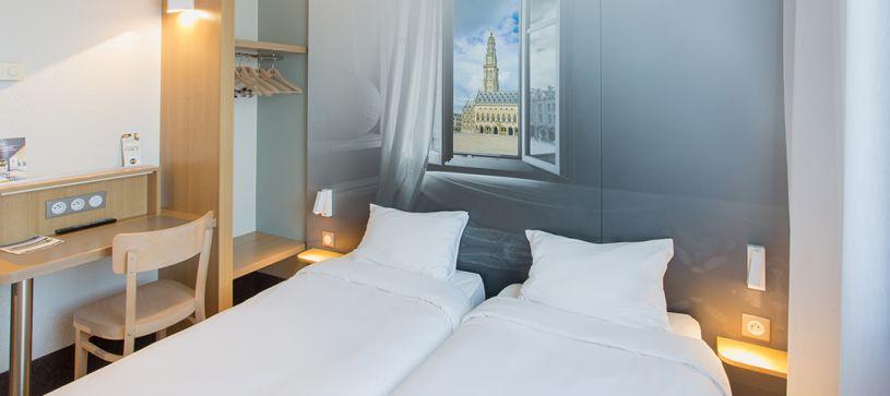 B&B Hôtel à Arras : hôtel 2 étoiles situé près de la gare