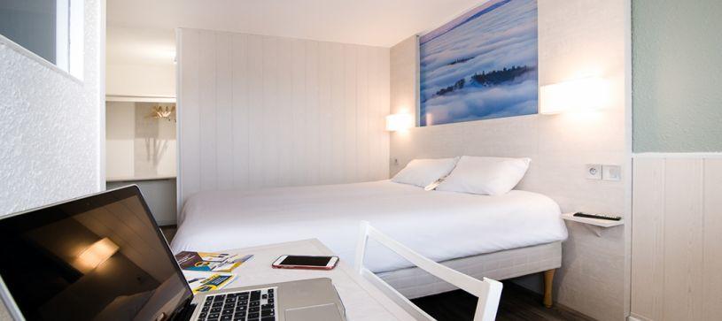 hotel en belfort habitación doble