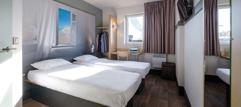 hôtel à calais chambre double 2 lits