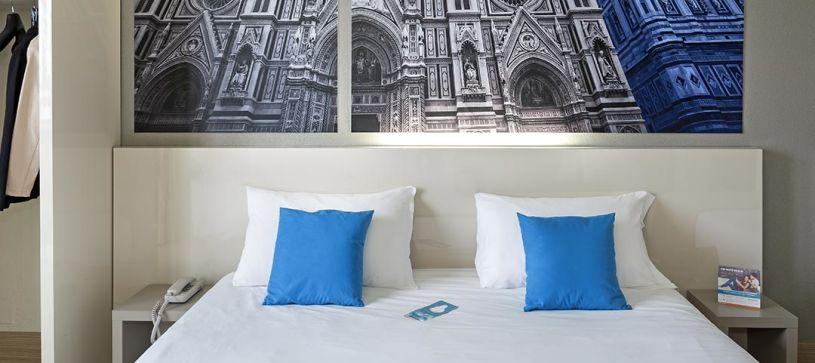 B&B Hotel Firenze Nuovo Palazzo di Giustizia - Camera matrimoniale