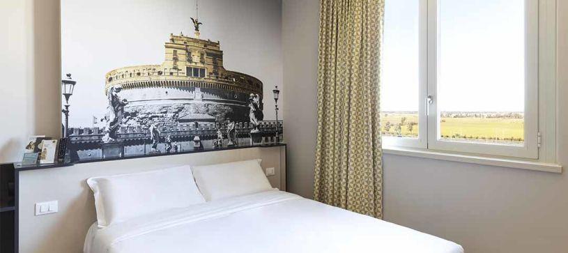 B&B Hotel Roma Fiumicino - Camera matrimoniale 1