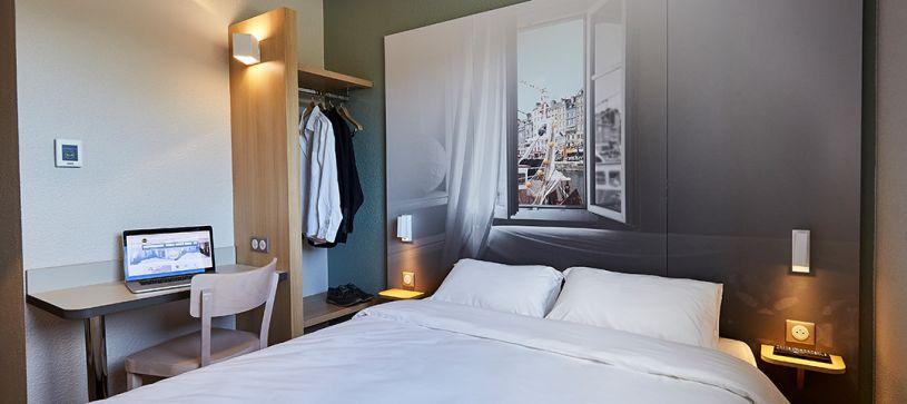 hotel en honfleur habitación doble