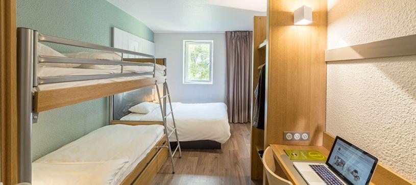 hotel en lille habitación familiar