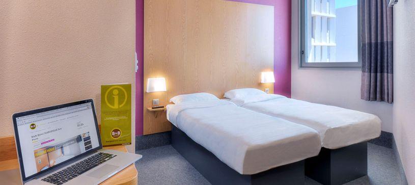 hotel en marseille habitación doble