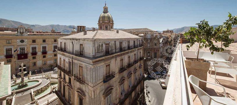 B B Hotel Palermo Quattro Canti In The Centre Of Palermo