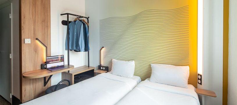 hôtel à paris chambre double 2 lits