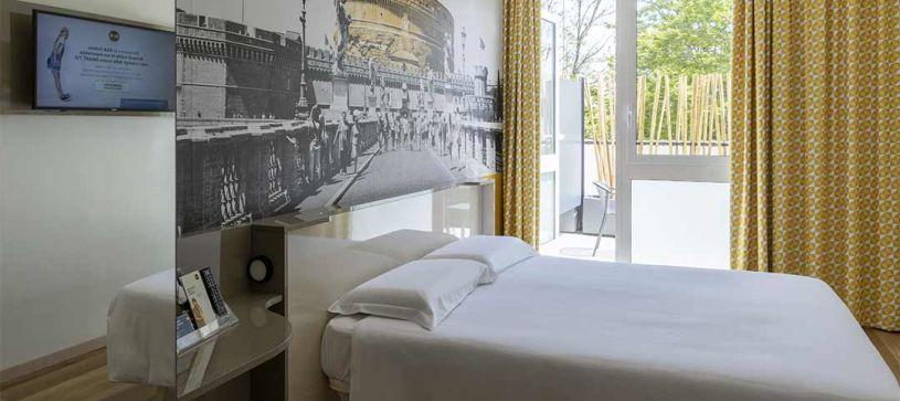 B&B Hotel Roma Pietralata - Matrimoniale con terrazza