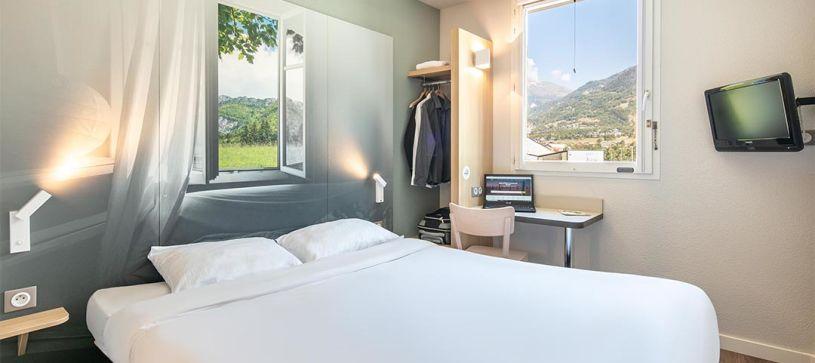 hôtel à saint jean de maurienne chambre double