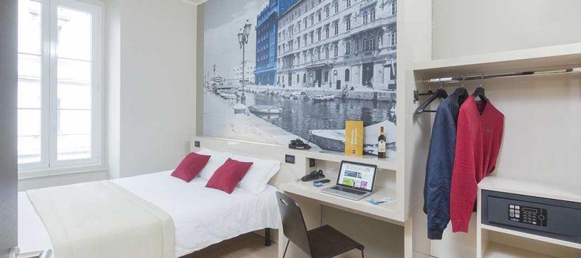 B&B Hotel Trieste - Camera matrimoniale