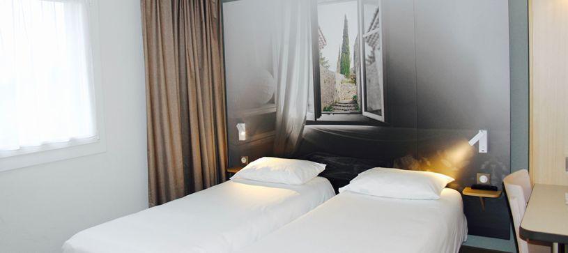 hôtel à valence chambre double 2 lits