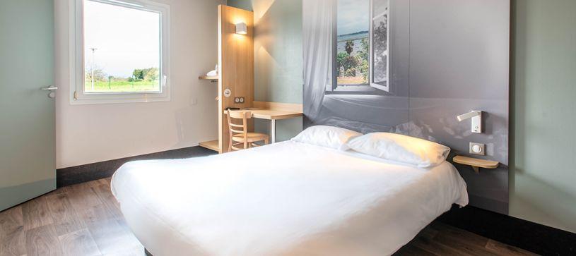 hotel en vannes habitación doble