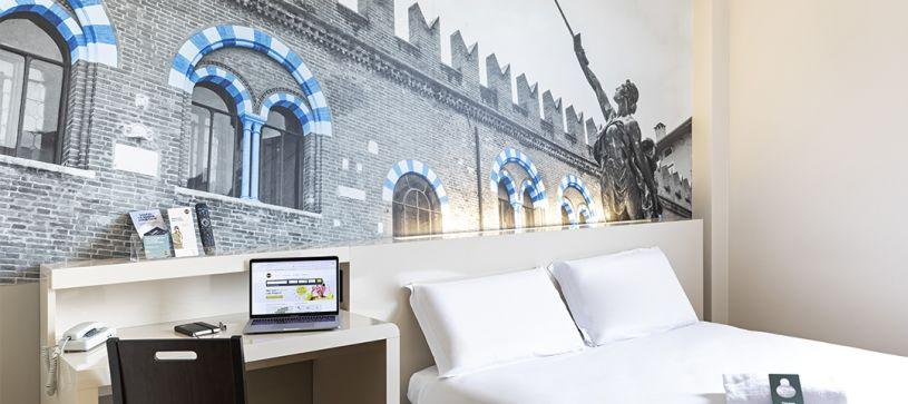 B&B Hotel Verona - Camera matrimoniale