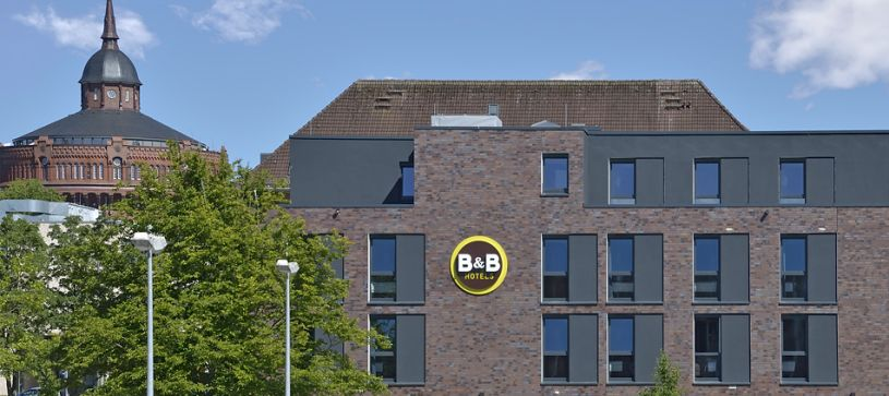 Hotel Kiel-Wissenschaftspark Außenansicht bei Tag
