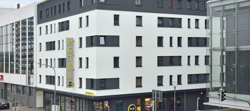 Hotel Ludwigshafen Außenansicht bei Tag