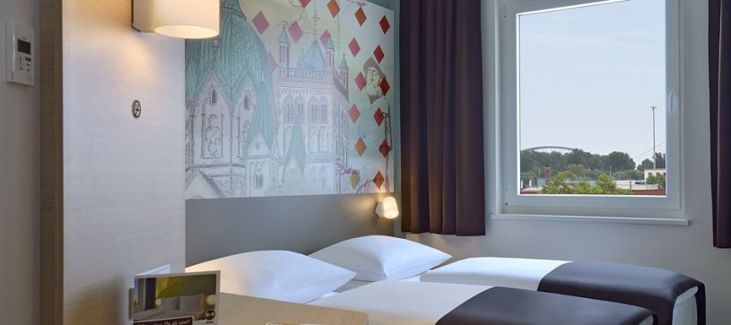 Hotel Neuss twin room