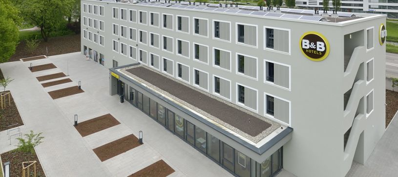 Hotel Offenburg exterior by day