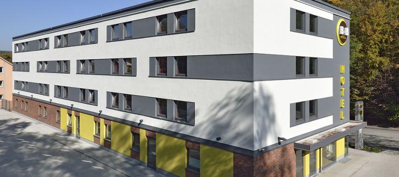 Hotel Passau Außenansicht bei Tag