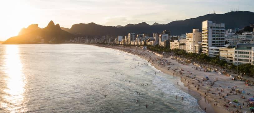 Copacabana Forte - Beach