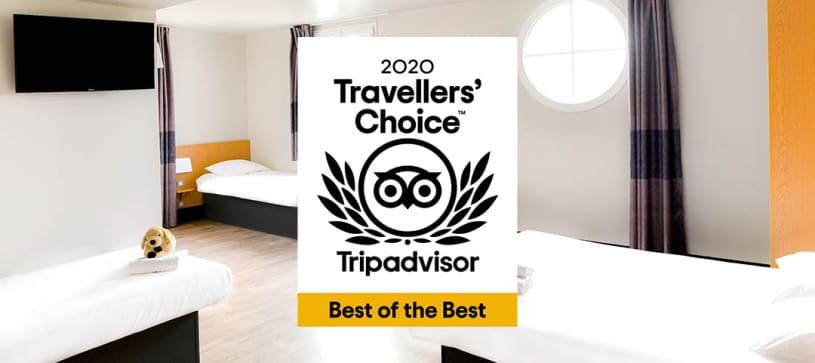 hôtel à disneyland paris certifié Trip Advisor