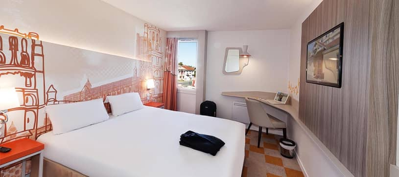hotel in albi double room