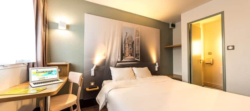 hotel en alençon habitación doble