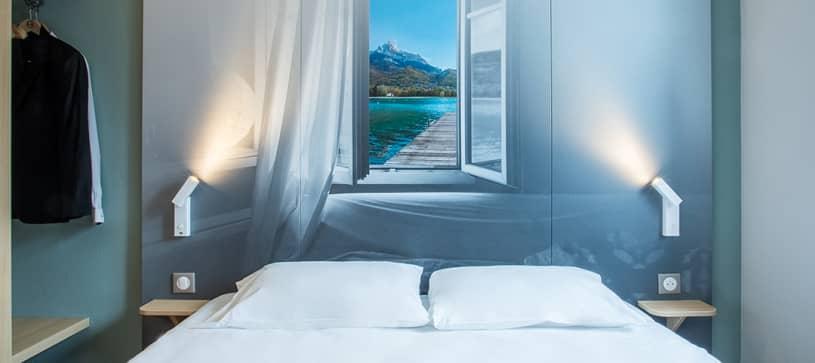 hôtel à annemasse chambre double