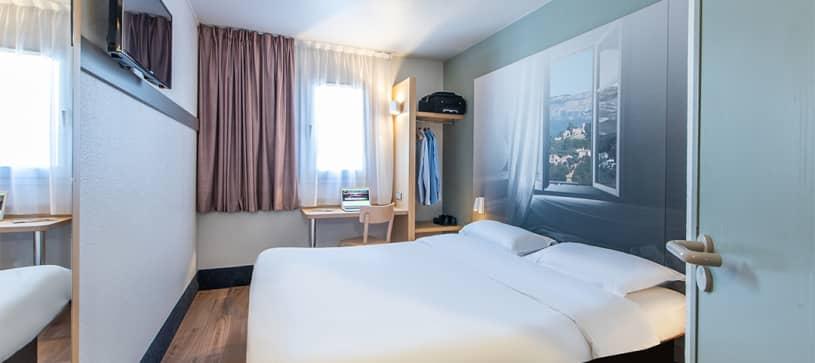 hotel en antibes habitación doble
