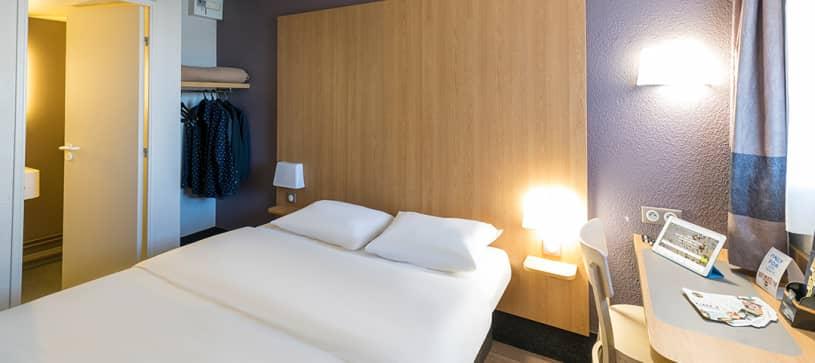 chambre double B&B Hôtel Auxerre Bourgogne