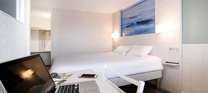 hôtel à belfort chambre double