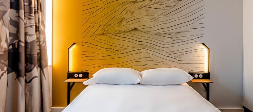 B&B Hôtel à Bordeaux Bassins à Flot | chambre double