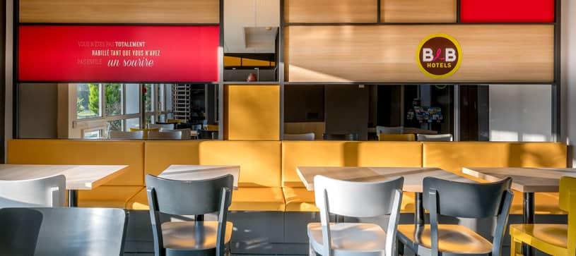 hotel in bordeaux breakfast room