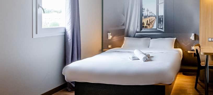 B&B Hôtel Bordeaux Le Haillan | chambre double
