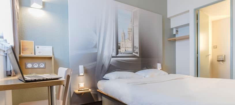 hotel en boulogne sur mer habitación doble