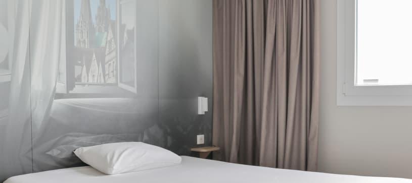 chambre double B&B Hôtel Chartres Océane