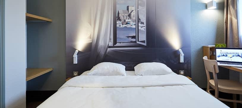 hôtel à cherbourg chambre double