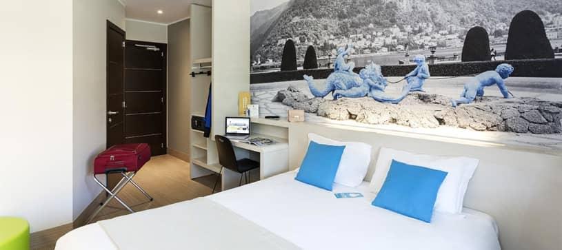 B&B Hotel Como-camera matrimoniale
