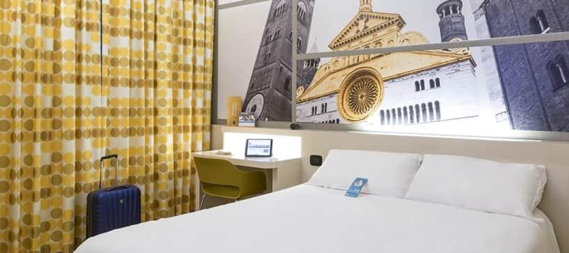B&B Hotel Cremona - Camera matrimoniale